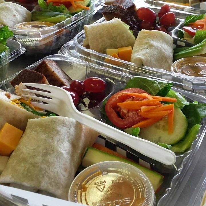 boîtes à lunch corporatives