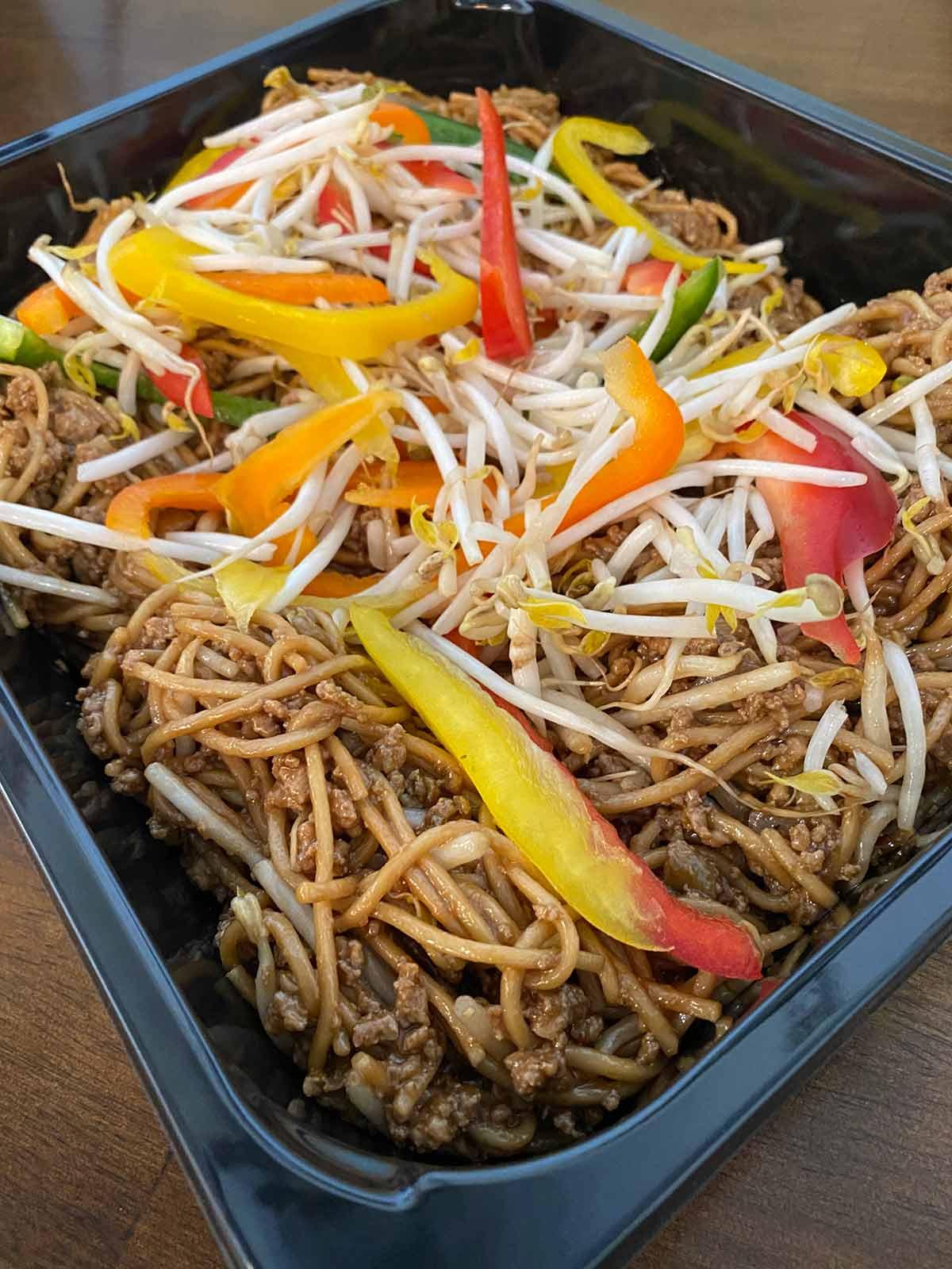 chop suey - plat pour emporter